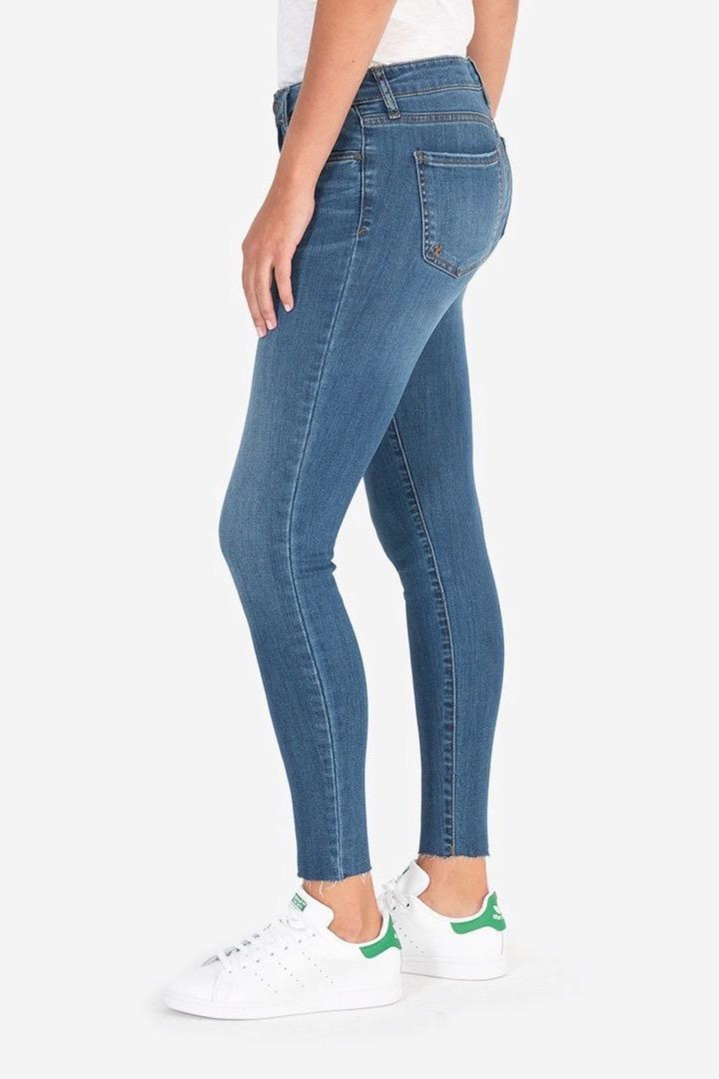 Kut from the Kloth Donna Ankle Skinny - Front Full Image