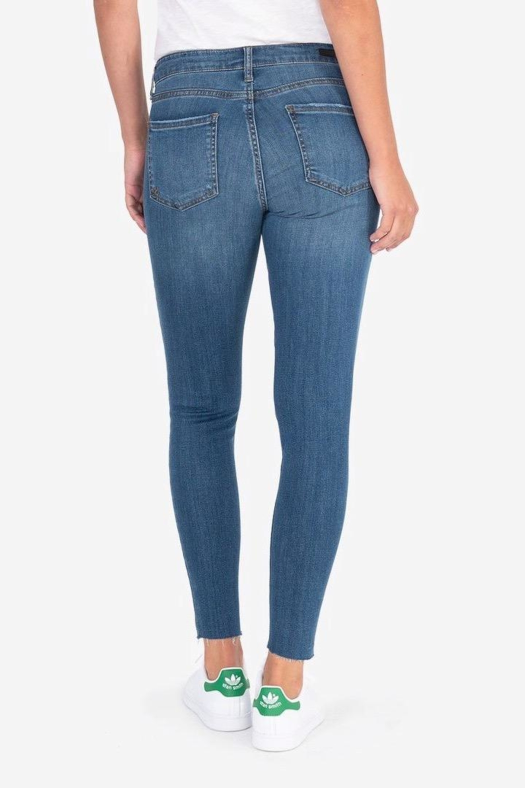 Kut from the Kloth Donna Ankle Skinny - Back Cropped Image
