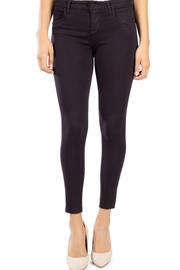 Kut from the Kloth Donna Eggplant Skinny - Product Mini Image