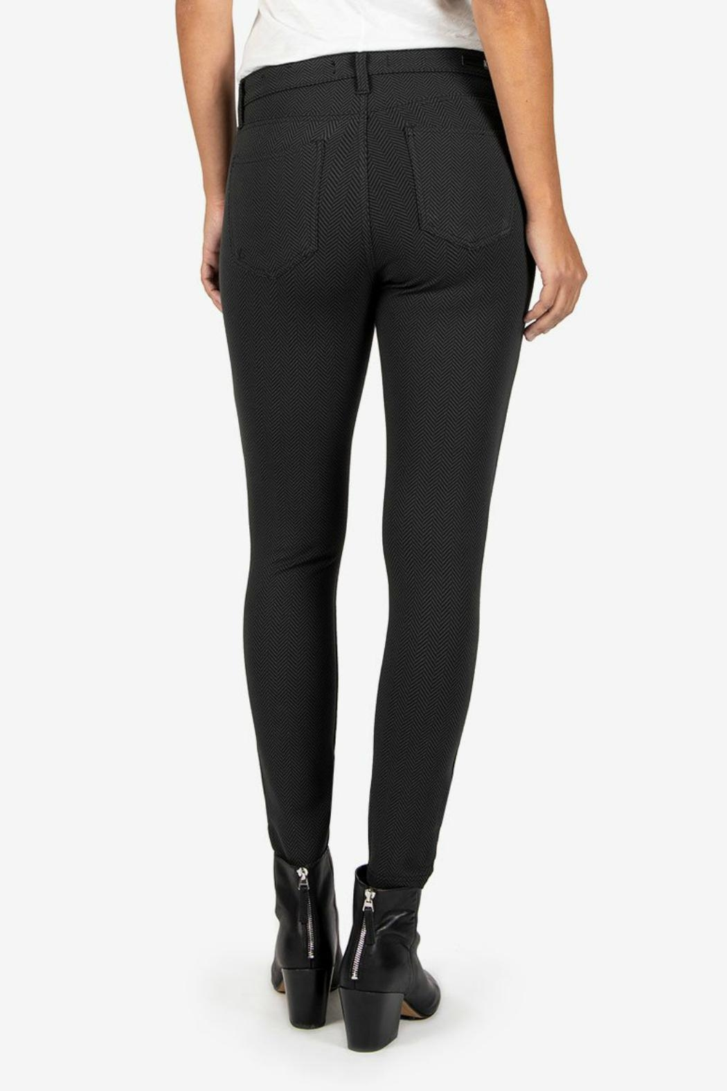 Kut from the Kloth Donna Ponte Ankle-Skinny - Front Full Image