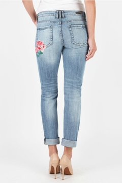 Kut from the Kloth Embroidered Boyfriend Jeans - Alternate List Image