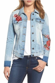 Kut from the Kloth Embroidered Denim Jacket - Product Mini Image