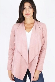 Kut from the Kloth Faux Suede Openjacket - Product Mini Image
