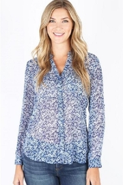 Kut from the Kloth Flowy Floral Top - Product Mini Image