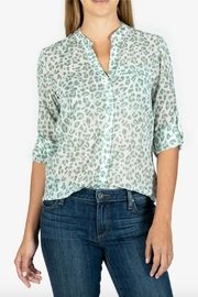 Kut from the Kloth Jasmine Printed Top - Product Mini Image