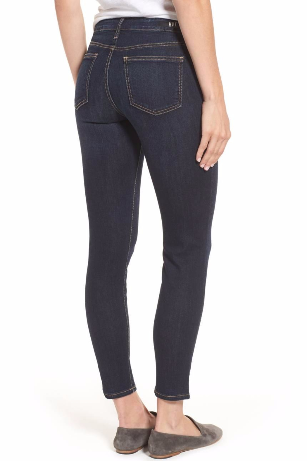 Kut from the Kloth Kurvy Ankle Jeans - Front Full Image