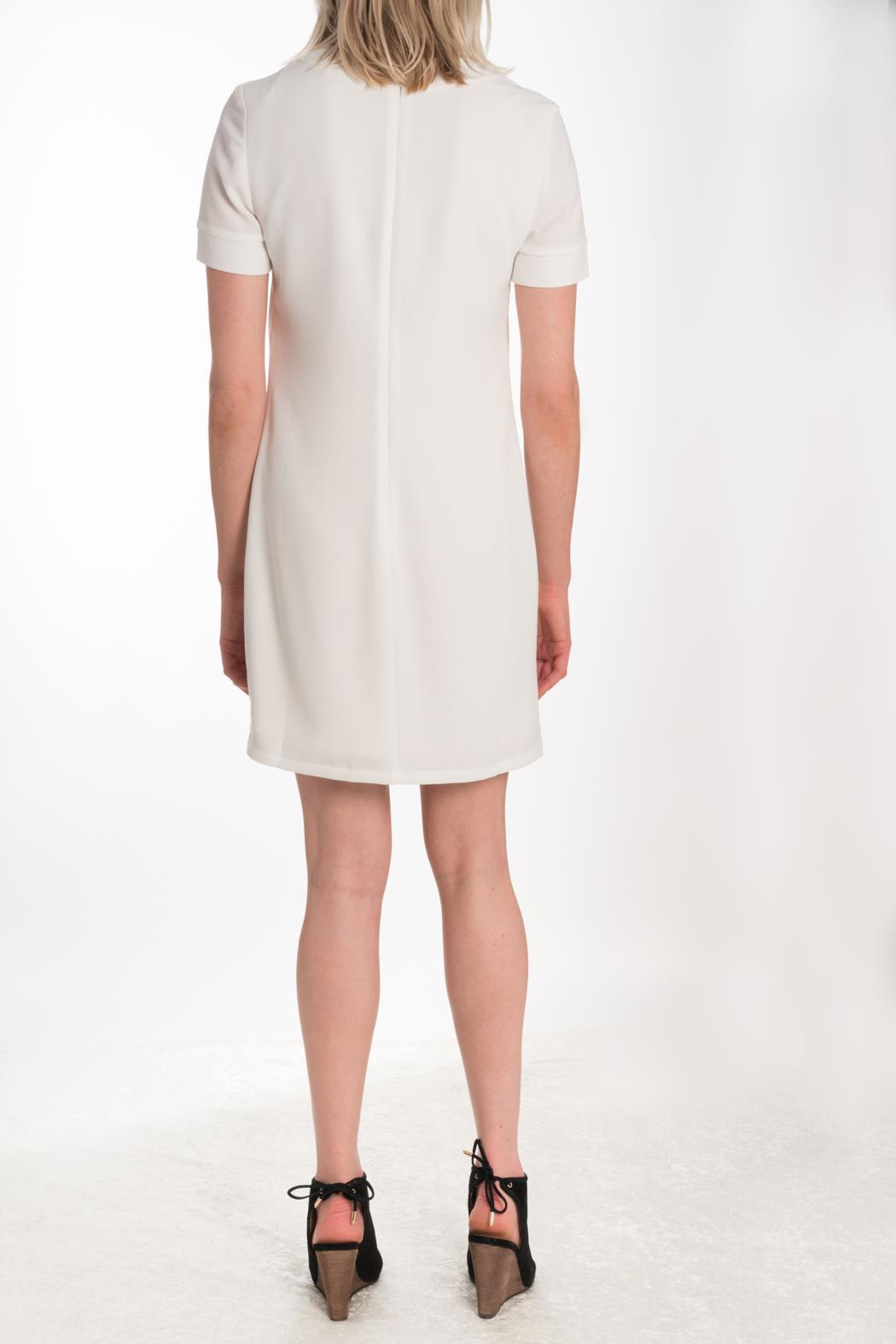 Kut from the Kloth Lace Up Dress - Side Cropped Image