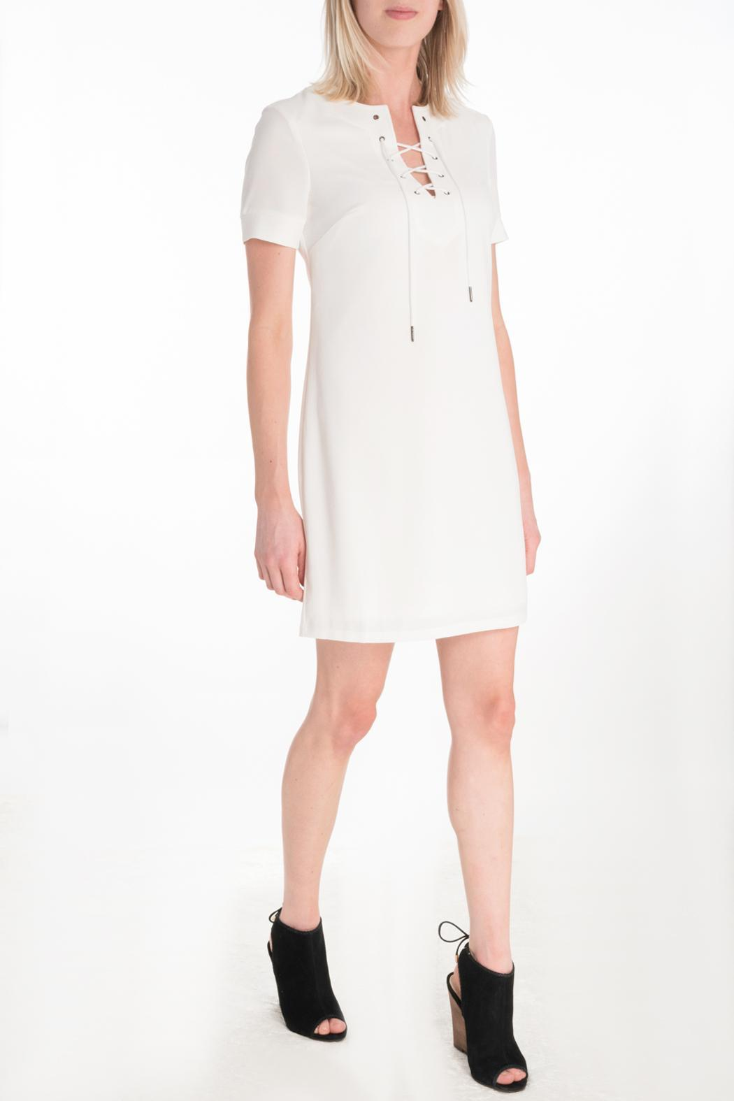 Kut from the Kloth Lace Up Dress - Main Image
