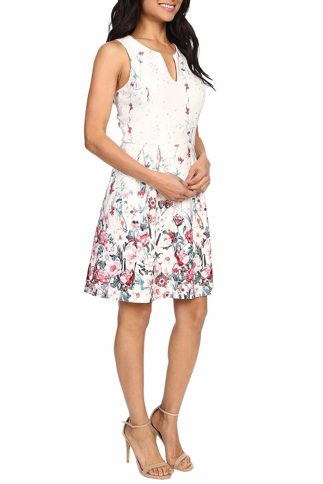Kut from the Kloth Lana Floral Dress - Side Cropped Image