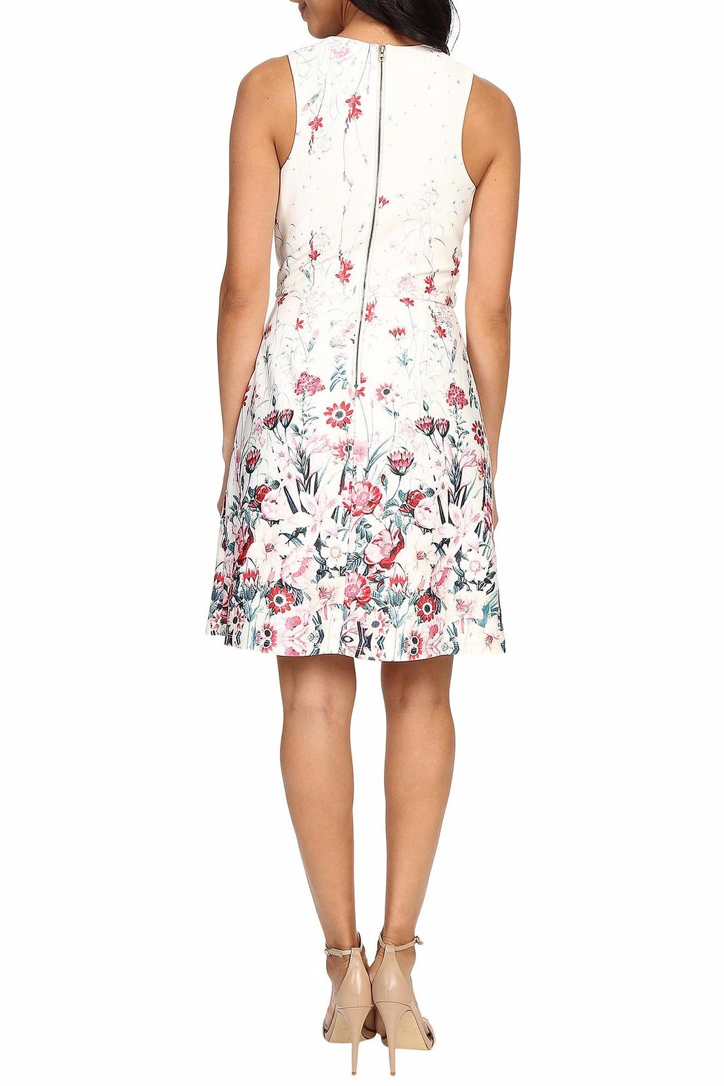 Kut from the Kloth Lana Floral Dress - Front Full Image