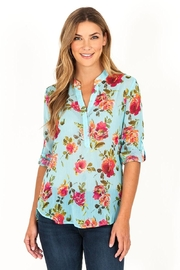 Kut from the Kloth Lucida Floral Blouse - Product Mini Image