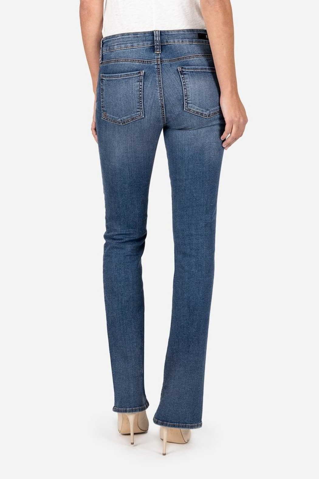 Kut from the Kloth Natalie Bootcut Jeans - Front Full Image