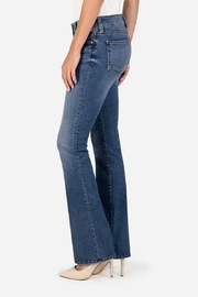 Kut from the Kloth Natalie Bootcut Jeans - Side cropped