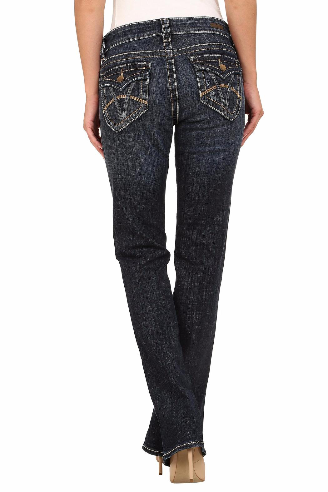 Kut from the Kloth Natalie Bootleg Jeans - Front Full Image