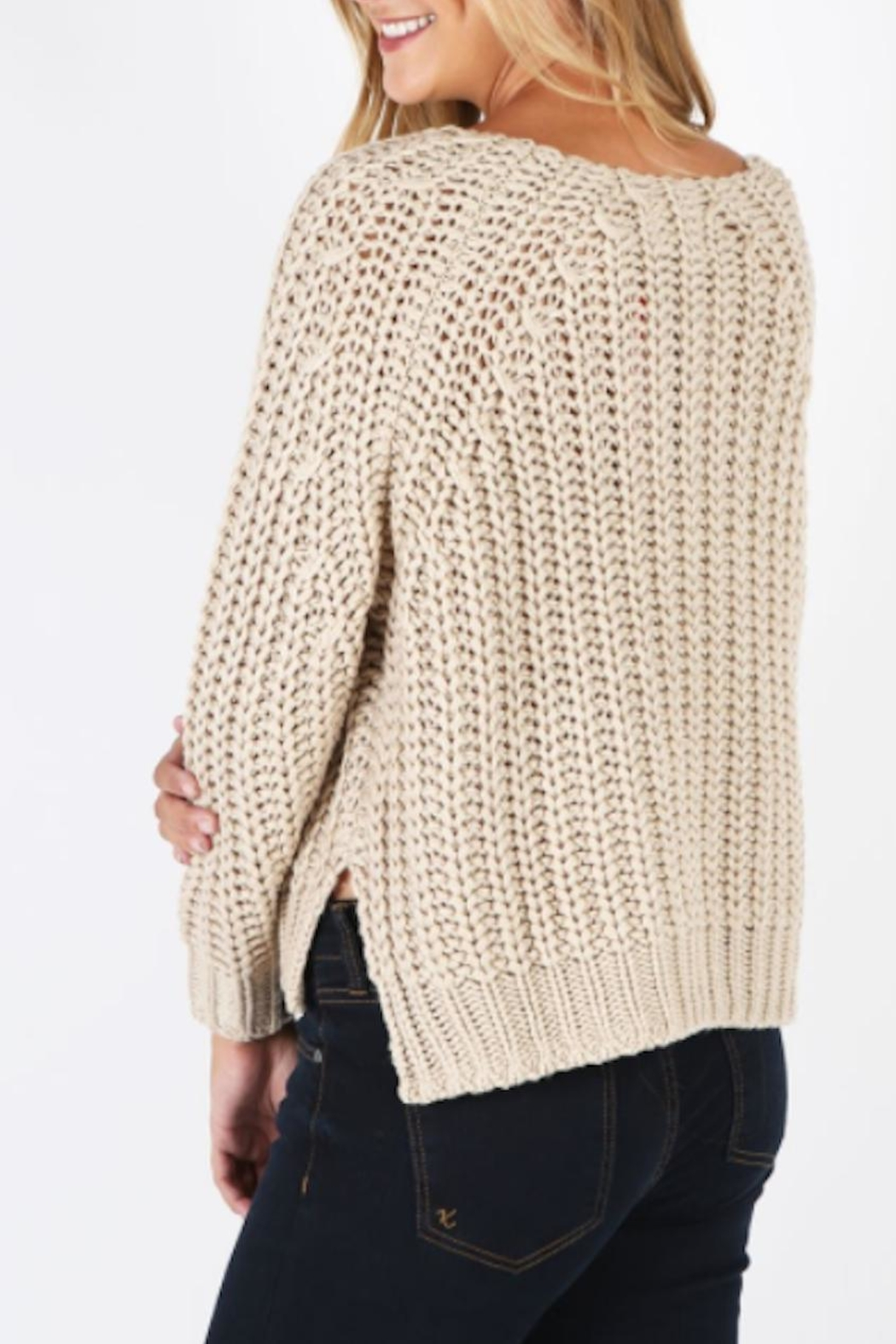Kut from the Kloth Page Chunky Sweater - Front Full Image