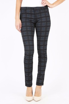 Kut from the Kloth Plaid Ponte Pants - Product List Image