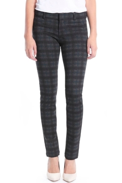 Shoptiques Product: Plaid Ponte Skinny