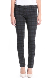 Kut from the Kloth Plaid Ponte Skinny - Product Mini Image