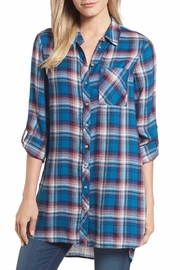 Kut from the Kloth Ravi Flannel Tunic - Product Mini Image