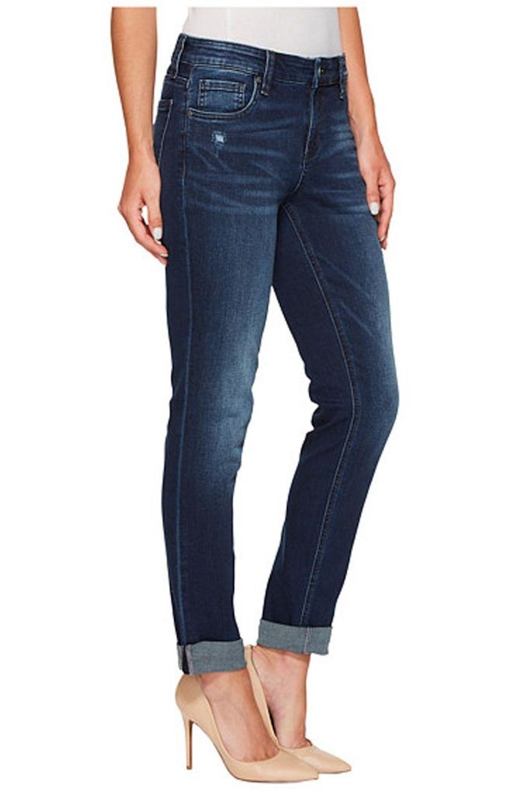 Kut from the Kloth Slouchy Boyfriend Jeans - Side Cropped Image