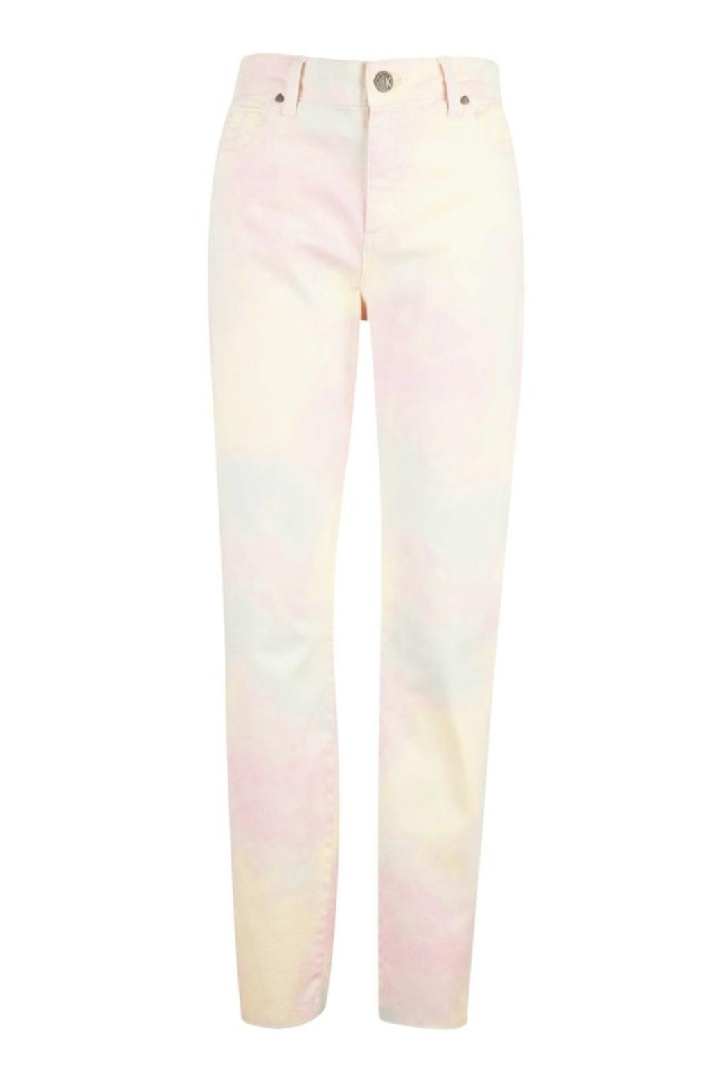 Kut from the Kloth Tie Dye Jean - Front Full Image