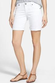 Kut from the Kloth White Bermuda Shorts - Product Mini Image