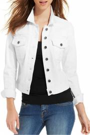 Kut from the Kloth White Denim Jacket - Product Mini Image