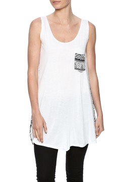 Shoptiques Product: Aztec Print Pocket Tank