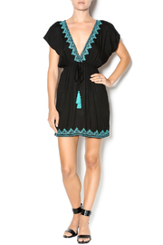 Kuta's One World Embroidered Ibiza Dress - Front full body