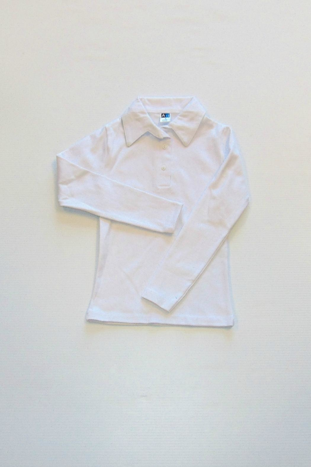Kute Knit Inc Girls Polo Shirt - Main Image