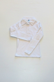 Kute Knit Inc Girls Polo Shirt - Front cropped