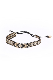 Kutula Kiss Diamond Pattern Bracelet - Front cropped