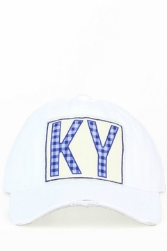 Shoptiques Product: Ky Distressed Hat
