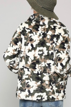 Kye Mi Camo Fur Coat - Alternate List Image