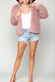 Kye Mi Mauve Cozy Coat - Product Mini Image