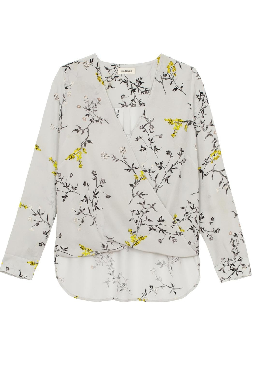 L'Agence Kyla Blouse - Front Cropped Image