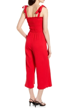 MINKPINK Kyla Shirred Jumpsuit - Alternate List Image