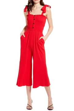 MINKPINK Kyla Shirred Jumpsuit - Product List Image
