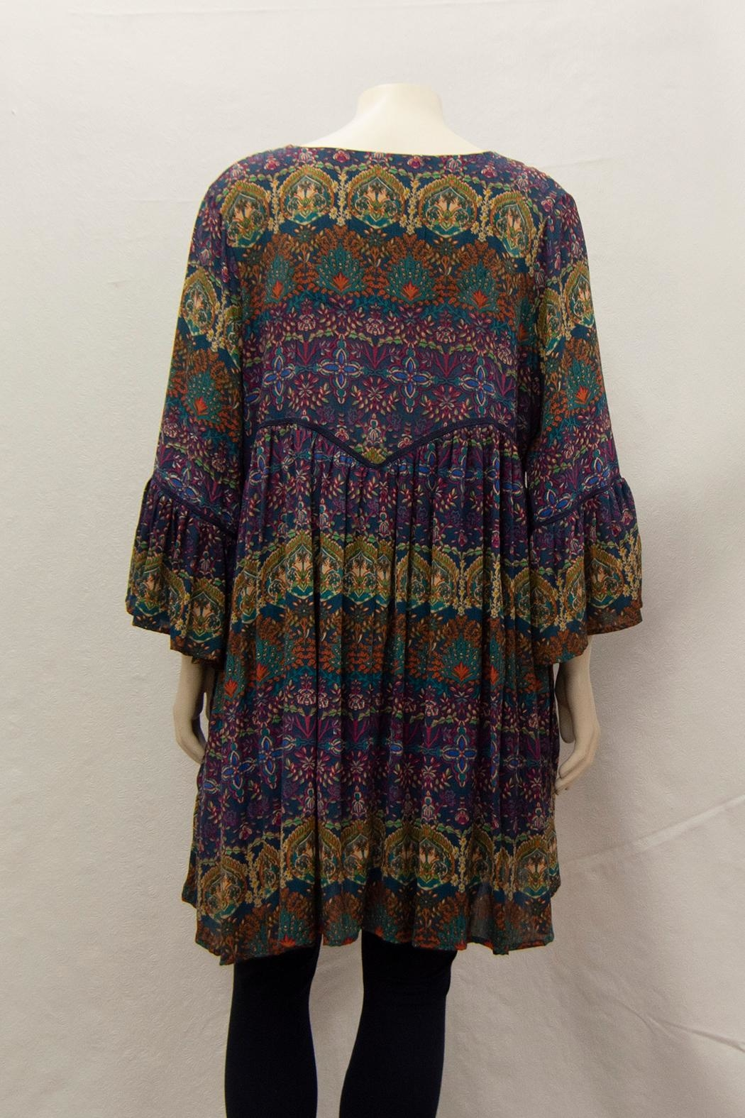 Kyla Vivenne Tunic Dress - Front Full Image