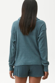 Michael Stars Kylo Hoodie with Side Slits - Side cropped