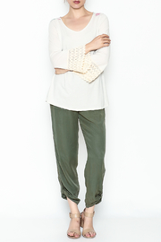 L & B Cream Cactus Top - Side cropped