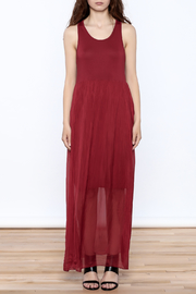 L & C Fashion Silk Maxi Dress - Front cropped