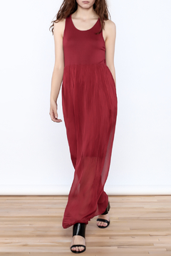 L & C Fashion Silk Maxi Dress - Product List Image