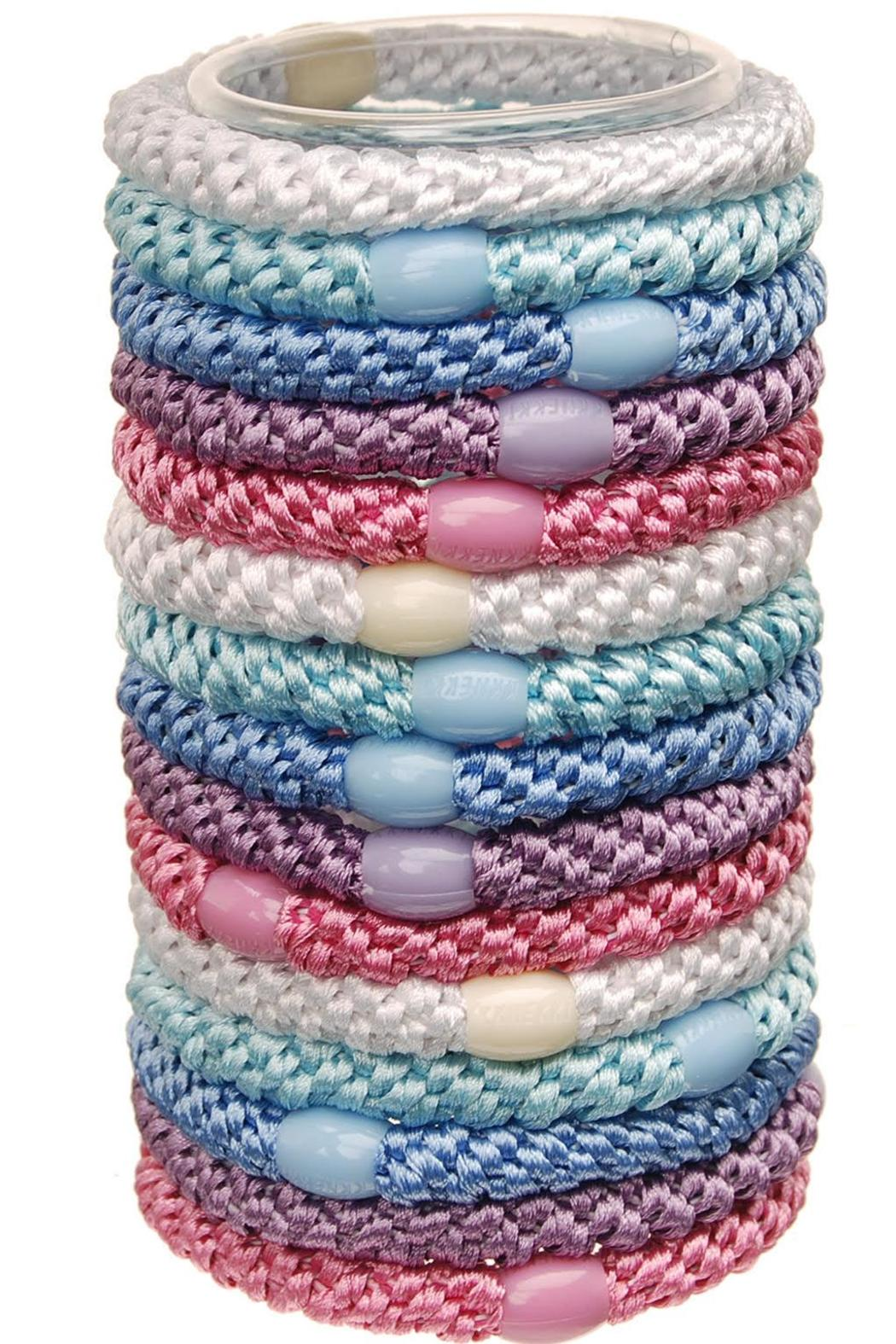 L Erikson Pastel Hair Ties From New Jersey By Gotham City