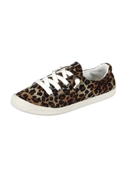 L.A. Shoe King Comfy Canvas Sneaker - Front cropped