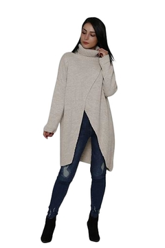L'adore Crossover Tunic Sweater - Product List Image