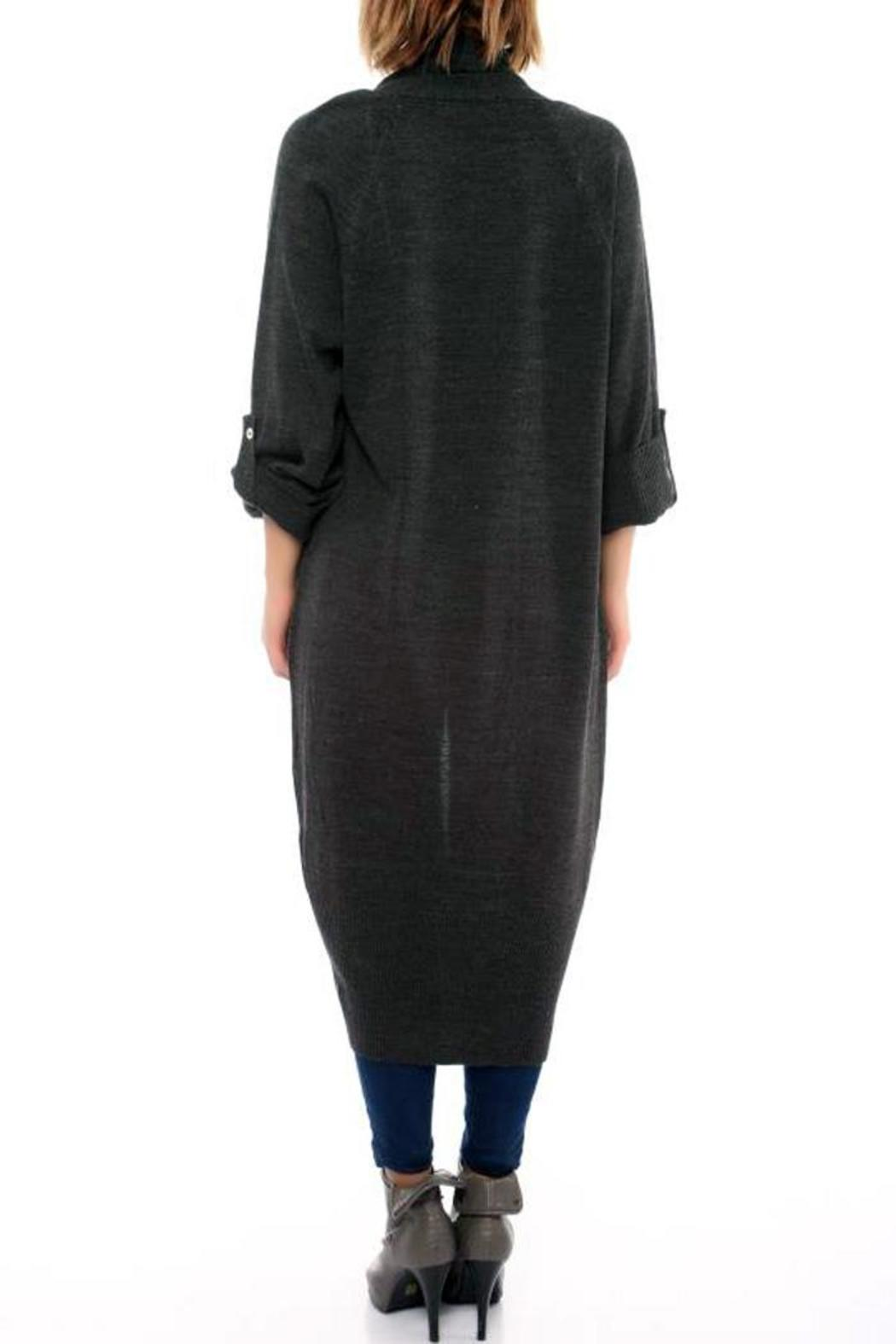 abebae985f L adore Long Open Front Cardigan from San Francisco by Marvy Fashion ...