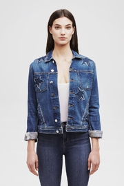 L'Agence Celine Denim Jacket - Product Mini Image