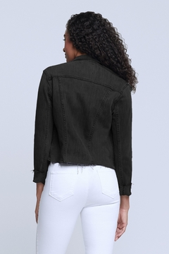 L'Agence Janelle Jacket In Vintage Black - Alternate List Image