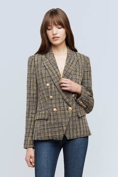 L'Agence Kenzie Tweed Blazer - Product List Image